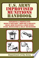 U S  Army Improvised Munitions Handbook