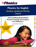 Phonics For English Reading Spelling And Writing