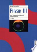 Optik, Quantenphänomene und Aufbau der Atome