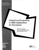 Global Food Projections to 2020