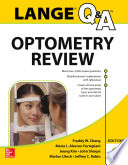 Lange Q A Optometry Review  Basic and Clinical Sciences