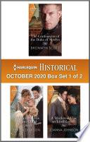 Harlequin Historical October 2020 Box Set 1 Of 2