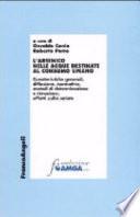 L arsenico nelle acque destinate al consumo umano  Caratteristiche generali  diffusione  normativa  metodi di determinazione e rimozione  effetti sulla salute