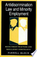 Antidiscrimination Law and Minority Employment