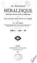 La Belgique héraldique