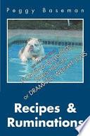 Recipes & Ruminations