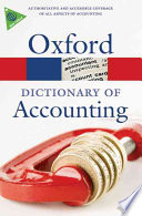 A Dictionary of Accounting
