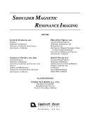 Shoulder Magnetic Resonance Imaging