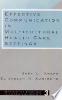 Effective Communication in Multicultural Health Care Settings