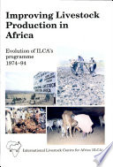 Improving Livestock Production in Africa