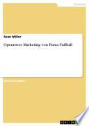 Operatives Marketing Von Puma Fu  ball