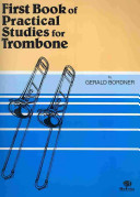 First Book of Practical Studies for Trombone and Baritone