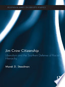 Jim Crow Citizenship