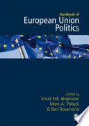 The SAGE Handbook of European Union Politics