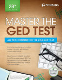 Master the GED Test  28th Edition