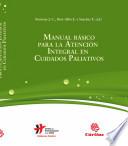 Manual B Sico Para La Atenci N Integral En Cuidados Paliativos