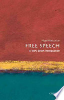 Free Speech A Very Short Introduction