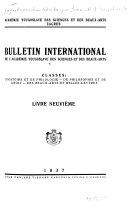 Bulletin international de l Acad  mie yougoslave des sciences et des beaux arts