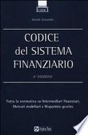 Codice del sistema finanziario