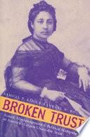 Book Broken Trust