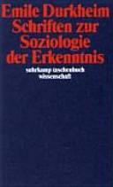 Schriften zur Soziologie der Erkenntnis