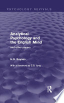Analytical Psychology and the English Mind  Psychology Revivals