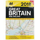 AA 2018 GREAT BRITAIN AND IRELAND ROAD ATLAS.