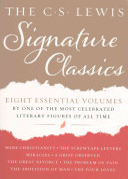 The C  S  Lewis Signature Classics  8 Volume Box Set
