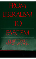 Italy from Liberalism to Fascism, 1870-1925