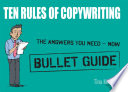 Copywriting: Bullet Guides Engage Your Audience Persuade Brilliantly