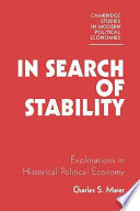 In Search Of Stability : the issue of how western industrial...