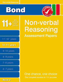 Bond Non Verbal Reasoning Assessment Papers 10 11  Years