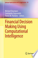 Financial Decision Making Using Computational Intelligence : of financial data often make...