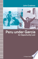 Peru Under Garcia
