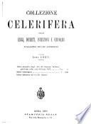 Collezione celerifera delle leggi  decreti  istruzioni e circolari