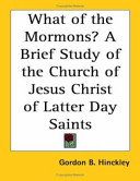 What Of The Mormons?