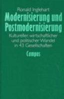 Modernisierung und Postmodernisierung