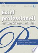Excel professionell  Automatisierung mit VBA