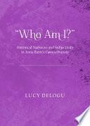 Who Am I   Historical Narrative and Subjectivity in Anna Banti s Camicia bruciata