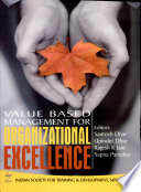 Value Based Management For Organizational Excellence