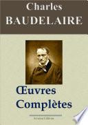 Charles Baudelaire   Oeuvres compl  tes et annexes     54 titres  Nouvelle   dition enrichie