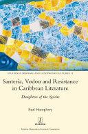 Santer  a  Vodou and Resistance in Caribbean Literature Book PDF