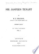 Sir Jasper s Tenant