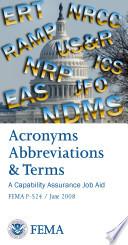 Acronyms Abbreviations   Terms   A Capability Assurance Job Aid