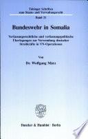 Bundeswehr in Somalia