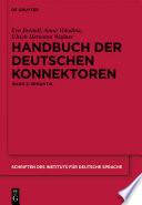Handbuch der deutschen Konnektoren 2