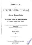 Handels- und Gewerbs-Schematismus von Wien und dessen nächster Umgebung