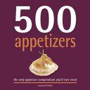 500 Appetizers Book PDF