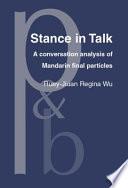 Stance in Talk