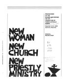 New woman  new church  new priestly ministry